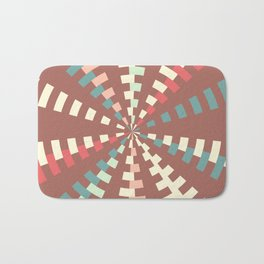 Dashed vortex Bath Mat
