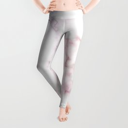 Pattern of red and blue marble Leggings
