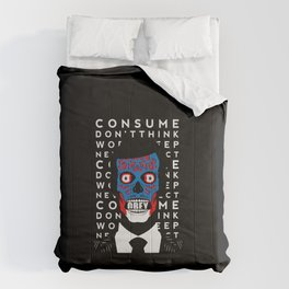 Obey Skull Comforters
