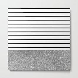 MaRINiera with silver Metal Print
