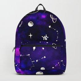 Uranus Neptunus pattern Backpack