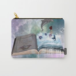 Fairytale book with mermaid Carry-All Pouch