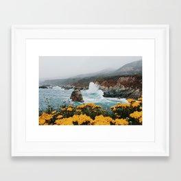Big Sur - Micah Hamilton Framed Art Print