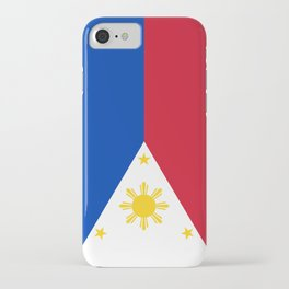 Philippines national flag iPhone Case