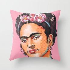 Frida Kahlo - Feminist Icon Throw Pillow