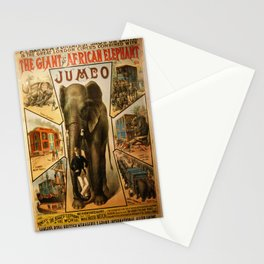 Vintage poster - Jumbo Stationery Cards