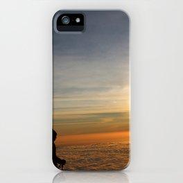 Triumph at dawn iPhone Case