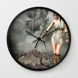 after the fight Wall Clock