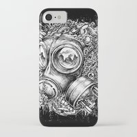 chaos iPhone & iPod Cases featuring Chaos by toto6
