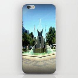 Victoria Square Fountain - Adelaide iPhone Skin