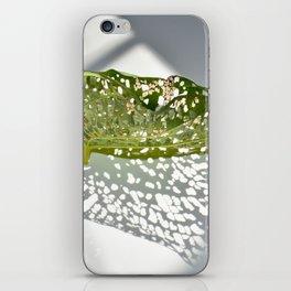 Leaf Light III iPhone Skin
