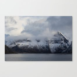 Vintage Mountain 15 Canvas Print