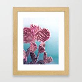 Candy Cactus Framed Art Print