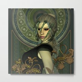 The dark fairy Metal Print