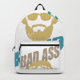 Badass Granpa Backpack