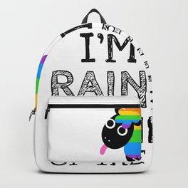 I am the rainbow sheep Backpack