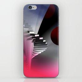 go upstairs -3- iPhone Skin
