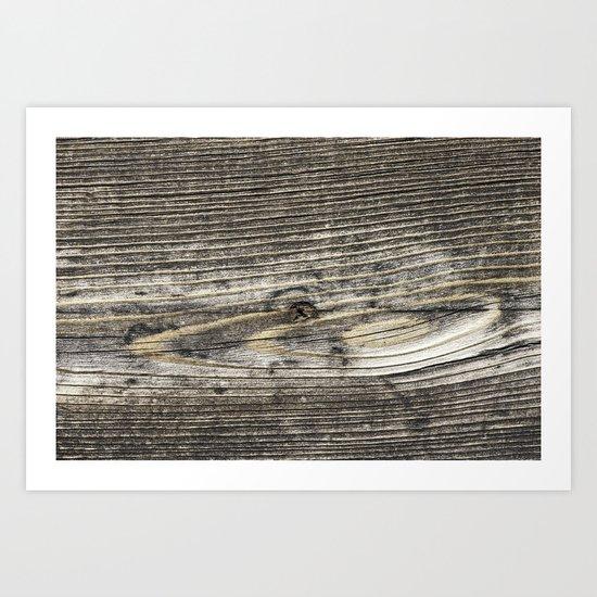 Barn-wood 2 Art Print