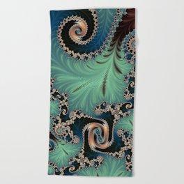 Azure - Fractal Art Beach Towel
