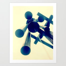 Windchimes Art Print