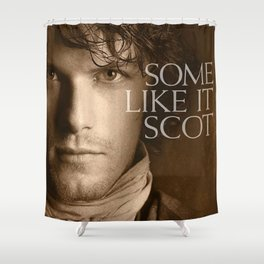 some like it scot Shower Curtain