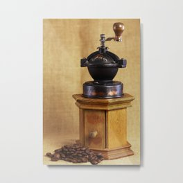 Coffee grinder Metal Print