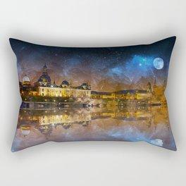 Dresden At Night Rectangular Pillow