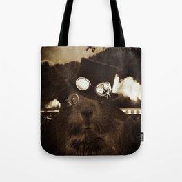 Steampunk Guinea Pig Tote Bag