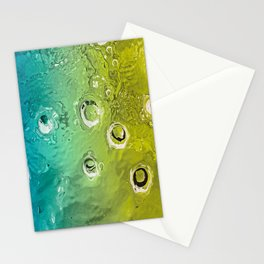water movement Stationery Cards