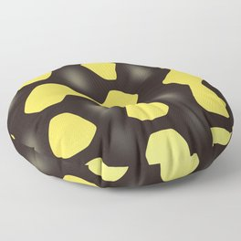 Jungle Carpet Python Floor Pillow
