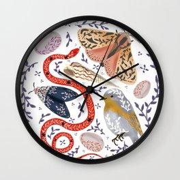 Magical Fauna Wall Clock