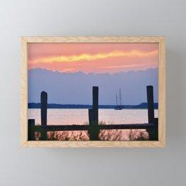 layers of amelia Framed Mini Art Print