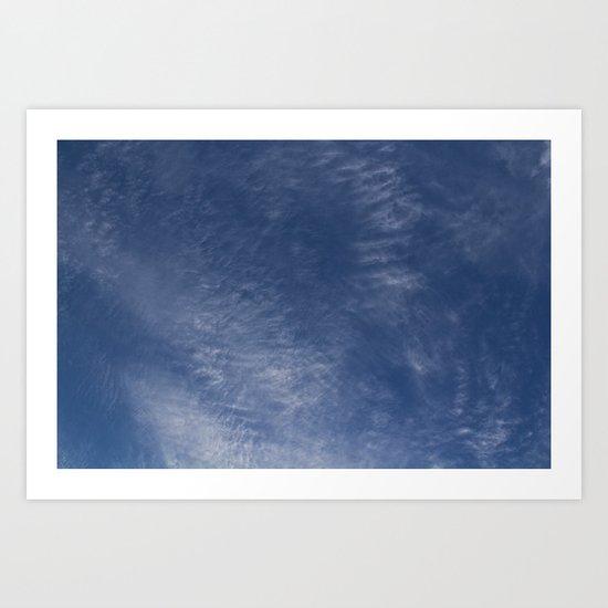 Upper Atmosphere Art Print