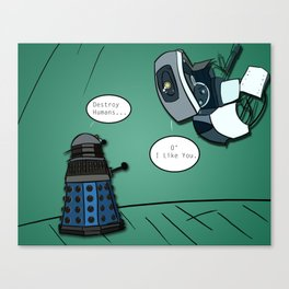 When their powers combine... Canvas Print