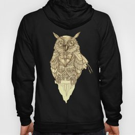 Dapper Owl - (Swanky Strigidae)  Hoody