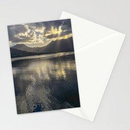 Dusk over Kaneohe Bay Stationery Cards