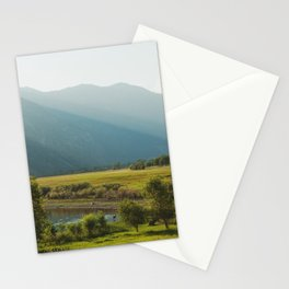 Wading Deer Stationery Cards