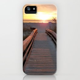 Good Morning Tybee Island iPhone Case