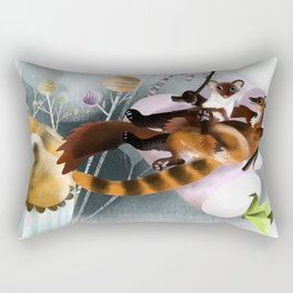 Love Galidia and friends Rectangular Pillow
