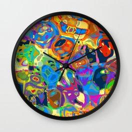 A Fine Mess Wall Clock