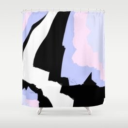 Pastel Marble Shower Curtain