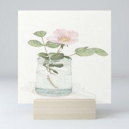 Hoboken Wild Rose Mini Art Print