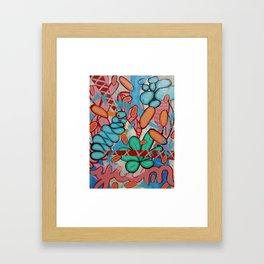 Fun rum yum Framed Art Print