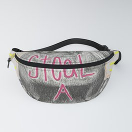 Life is short. Steal a Walrus Fanny Pack