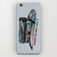 pocket fuel iPhone & iPod Skins featuring Need Some Fuel ? by Avigur