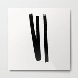 Lines 2, 1 Metal Print