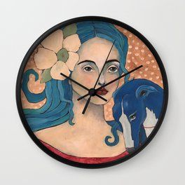 Izzy and Iggy Wall Clock