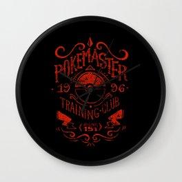 Poke Master Training Wall Clock