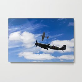 Spitfire - Attack Imminent Metal Print