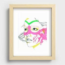 Bjork Recessed Framed Print